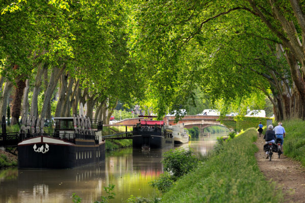 Canal of Midi in Toulouse, France