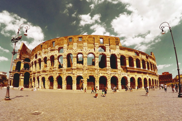 Ruins of the Colosseum, Rome