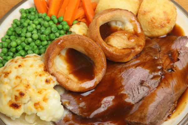 Yorkshire Puddings with Baked Dinner